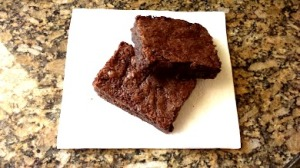 brownies on napkin 1