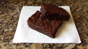 brownies on napkin 2