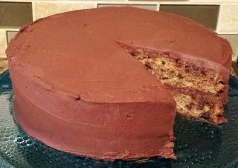 whole cake missing slice