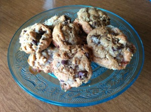 cookies on stand
