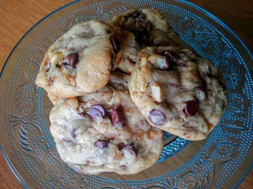 Pie Plate Chocolate Chip Toffee Cookies Recipes — Dishmaps
