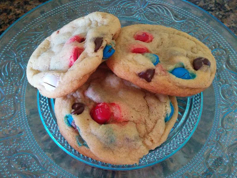 3 cookies on plate