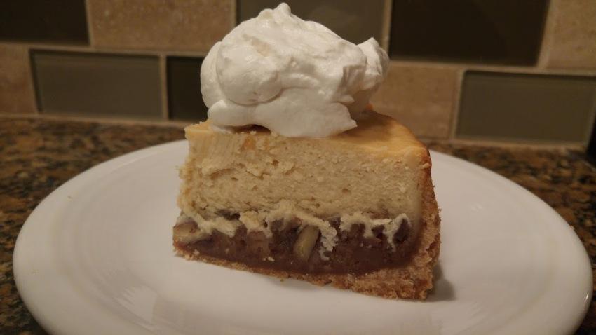 cheesecake slice whipped cream close up